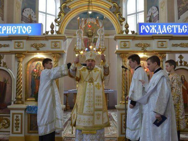 Архиєрейське богослужіння у неділю після Богоявлення