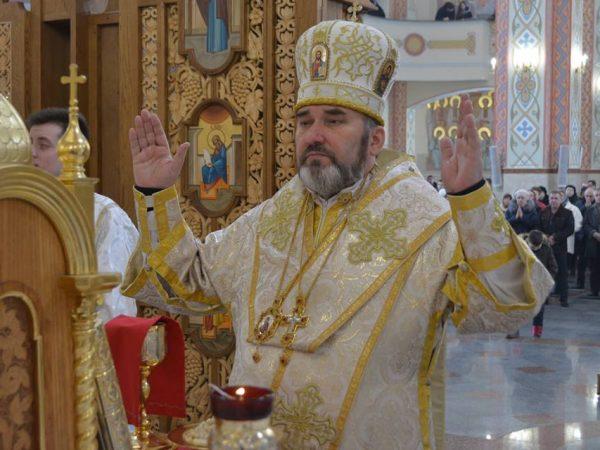 У Неділю Всепрощення кир Василій (Івасюк) очолив Літургію в Катедральному соборі м.Коломия