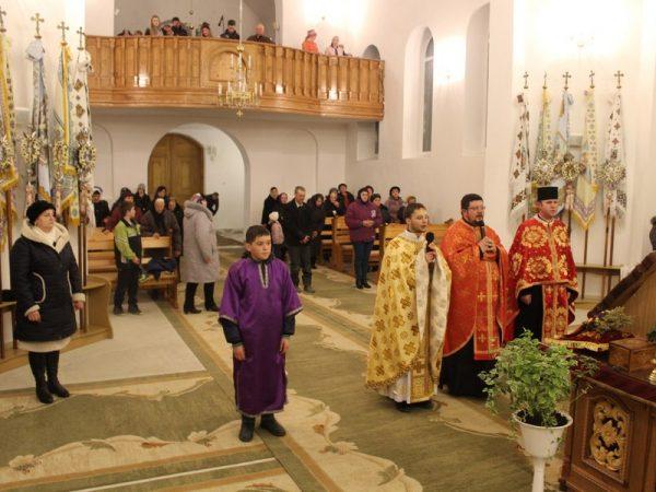 Триденні реколекції на парафії с.Перерісль