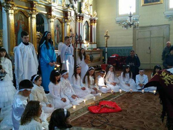 У с.Троїця провели Хресну дорогу ненароджених дітей