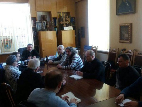 Засідання комісії сакрального мистецтва і культури