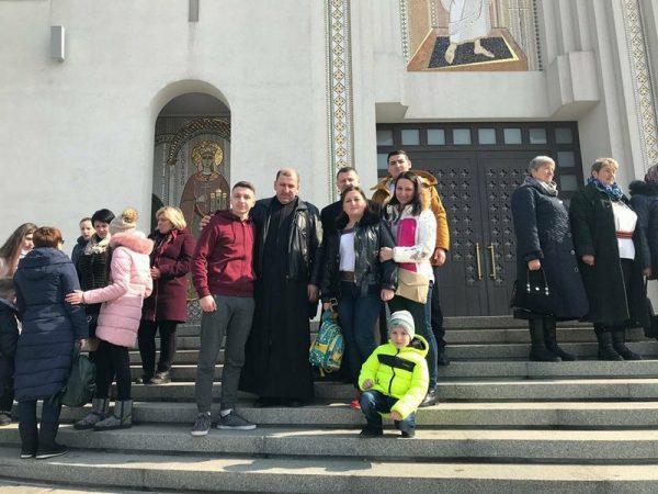 Парафіяни с.Поляниця помолились у Патріаршому соборі та відвідали ряд архітектурних пам'яток міста