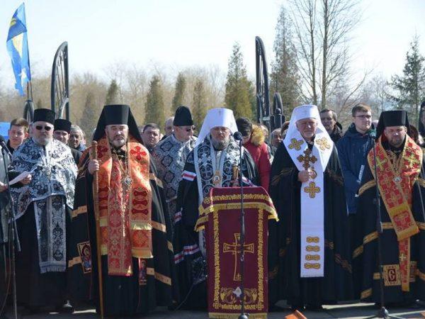 Владика Василій (Івасюк) взяв участь в перепохованні жертв НКВС