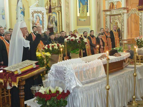 Чин священичого парастасу зановопреставленим о.Русланом Пасічним