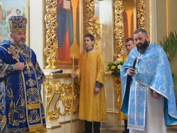 Святкування Храмового Празнику в Прокатедральному Соборі м.Надвірна