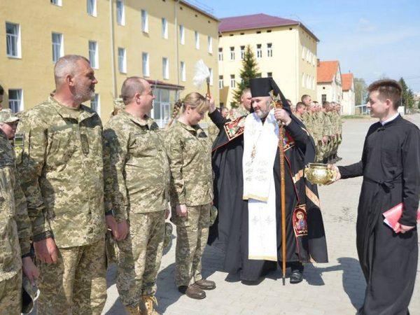 Освячення каплиці на території військової частини м.Коломиї