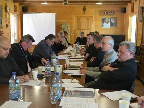 В єпархіальному управлінні провели збори протопресвітерів