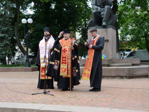 У Коломиї вшанували 157 річницю перепоховання Тараса Шевченка