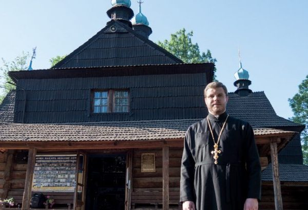 Благовіщенська церква Коломиї має нового настоятеля (відео)