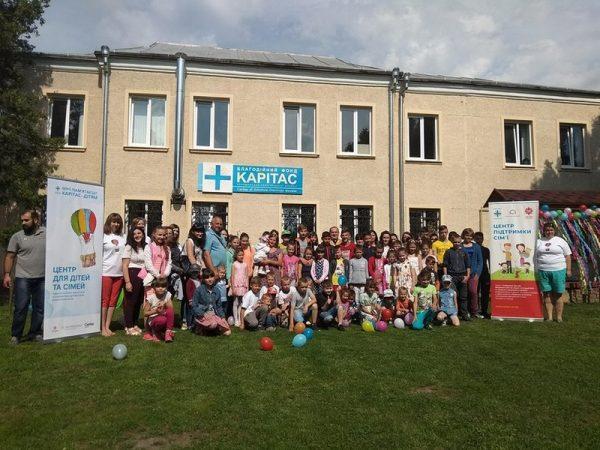 """БФ """"Карітас Коломиї"""" провів святкування Міжнародного дня захисту дітей"""