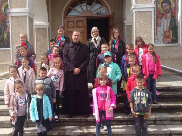 На парафії смт.Печеніжин відбувся літній відпочинковий табір