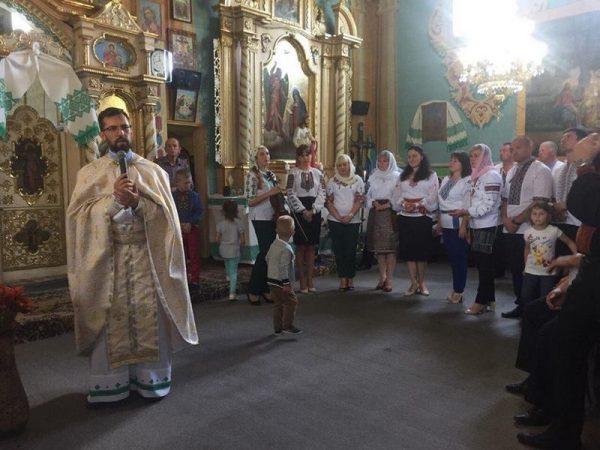 На парафії с.Яблуниця відзначили 155-річчя від дня народження митрополита Андрея Шептицького