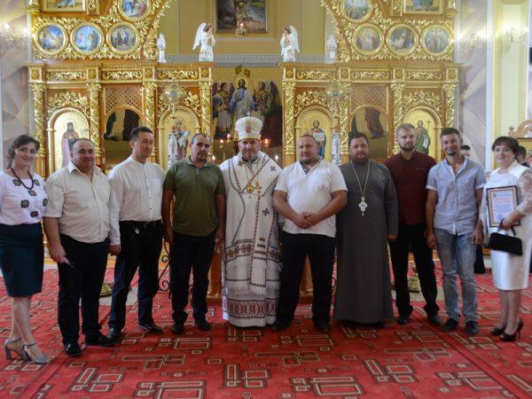 Освячення іконостасу в храмі св. Івана Христителя с.Білі Ослави