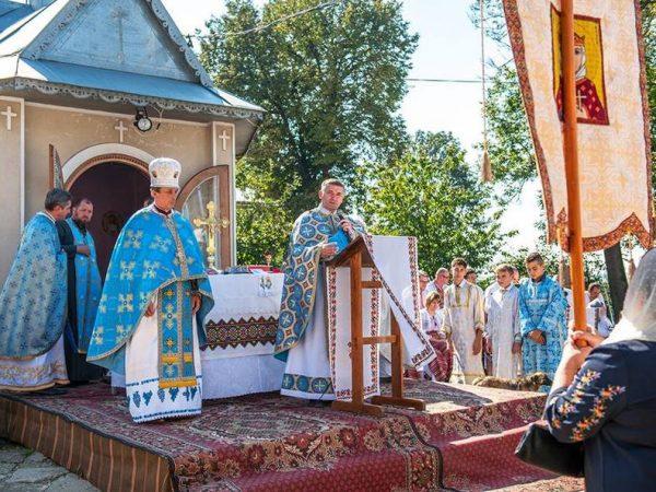 В Отинії відсвяткували храмовий празник