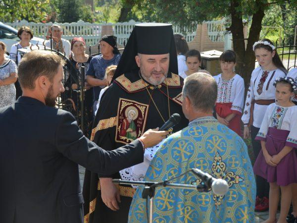 Освячення храму в Гринівцях