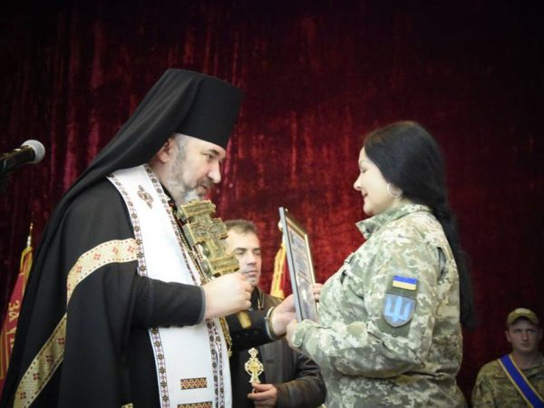Владика Василій привітав коломийських військовослужбовців з 3-ю річницю створення бригади