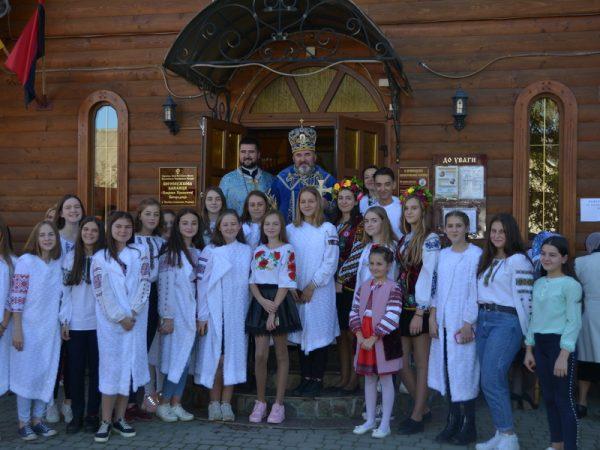 З нагоди храмового свята кир Василій молився в м.Надвірна
