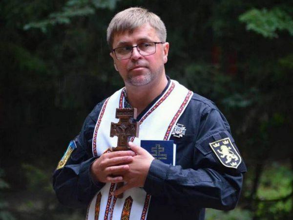 """""""Навіть на війні маємо зберегти людське обличчя"""",— капелан Михайло Дзюба"""