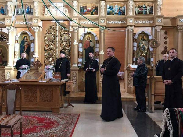 Візитація церкви св. Василія Великого м. Косів