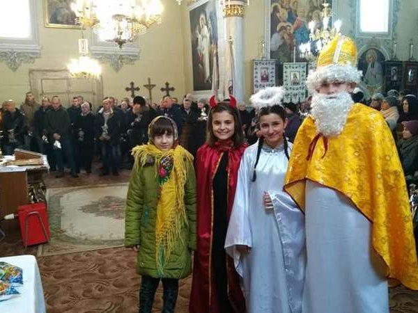 Свято Миколая на  парафії с.Троїця