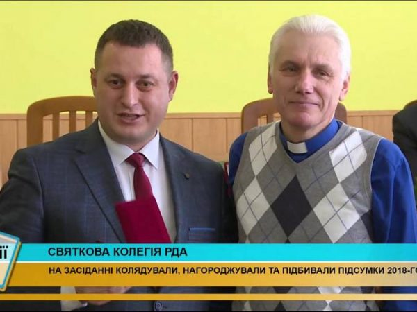"""Священика Коломийської єпархії відзначили медаллю """"За заслуги перед Коломийщиною"""" (відео)"""