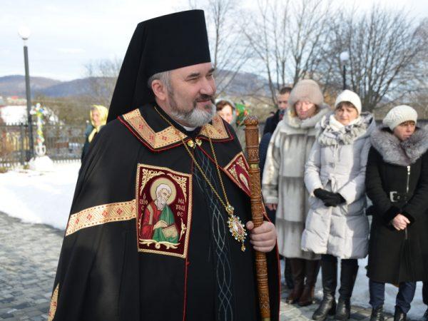 У день свята Зачаття Пресвятої Богородиці св. Анною кир Василій молився в с.Пнів
