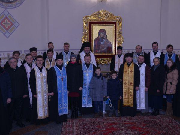 Духовенство Коломийського деканату і працівники єпархіальної курії подякували Богу за прожитий рік