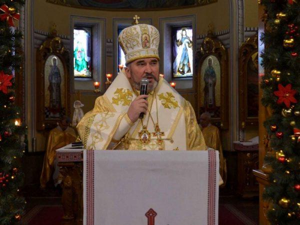 Різдвяне послання єпископа Коломийського кир Василія (Івасюка) (відео)