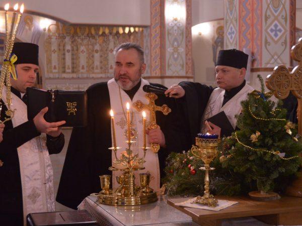 Різдвяне богослужіння у головному храмі Коломийської єпархії