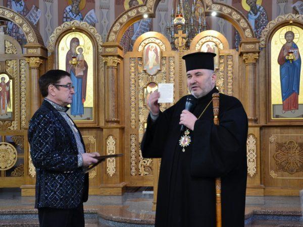 Ігор Богдан виступив з різдвяним концертом у Коломиї