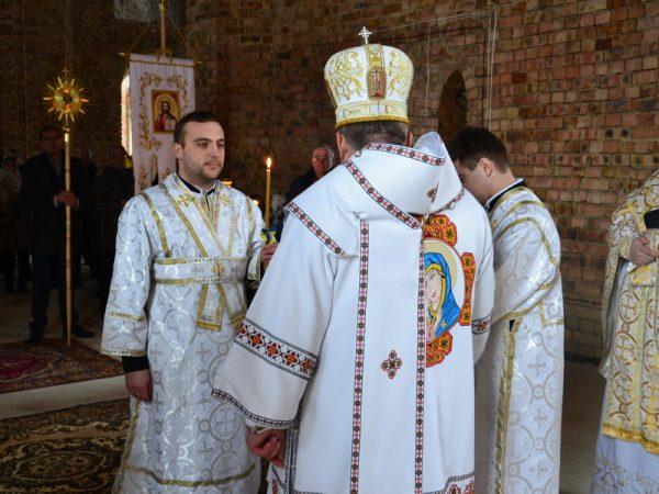 Владика Василій (Івасюк) уділив нижчі свячення у с.Спас