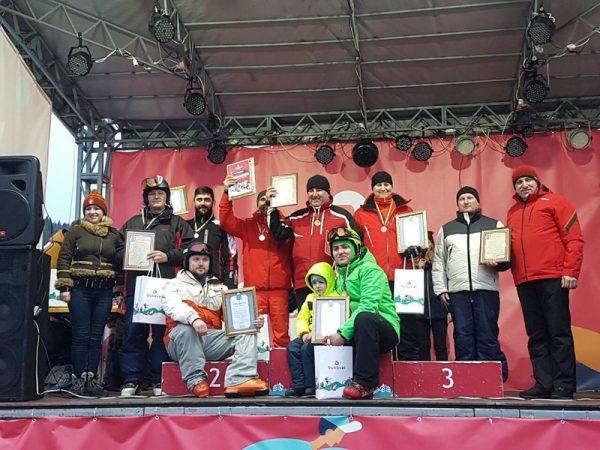 Лижні змагання зі слалом-гіганту серед духовенства єпархій УГКЦ