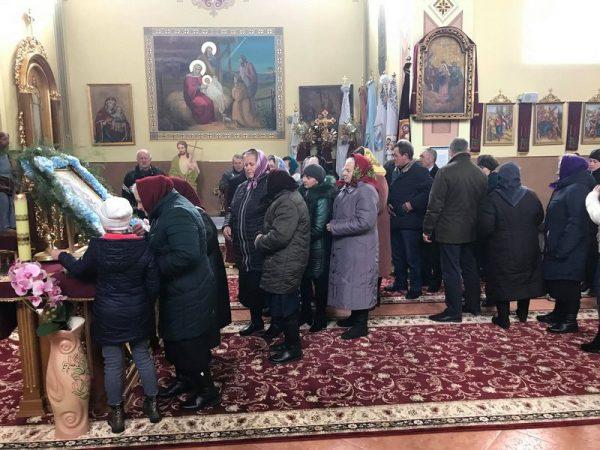 На парафію с.Делева прибула копія Коломийської ікони
