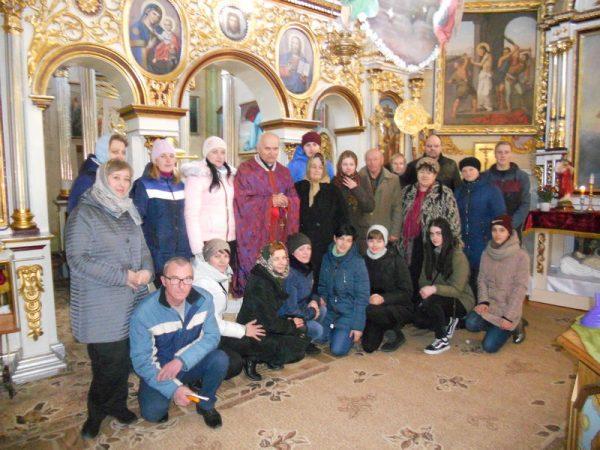 Прочани с.Лоєва молились за чесні і справедливі вибори у Грушеві