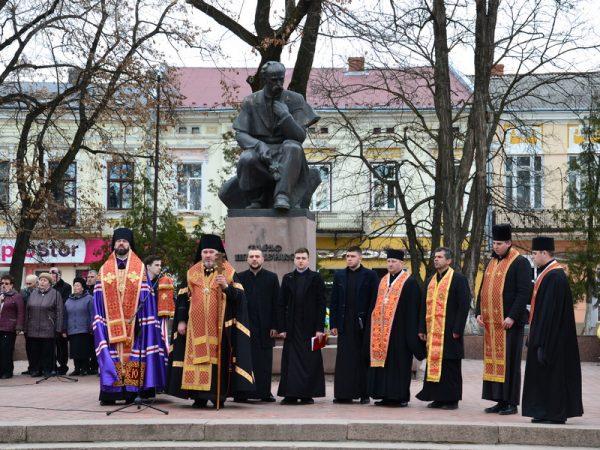 Вшанування 205-ї річниці від дня народження Великого Кобзаря у Коломиї
