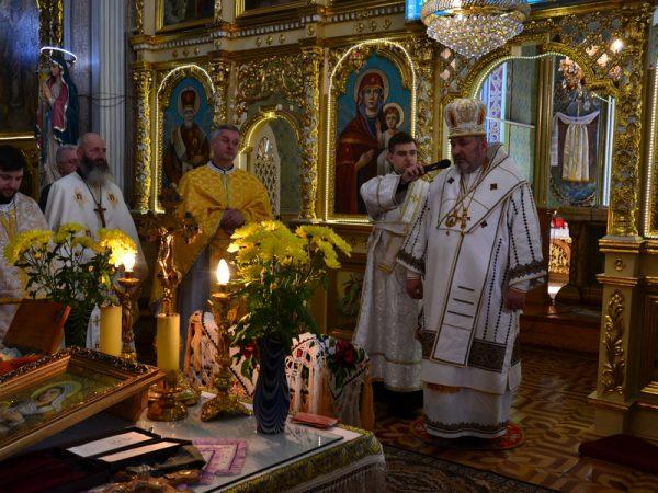 Владика Василь (Івасюк) відслужив Літургію з Чином всепрощення