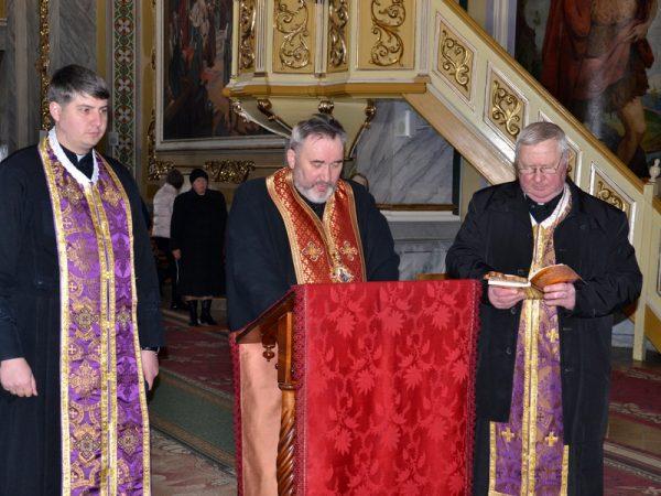 Великий покаянний канон Андрея Критського молились у Коломиї