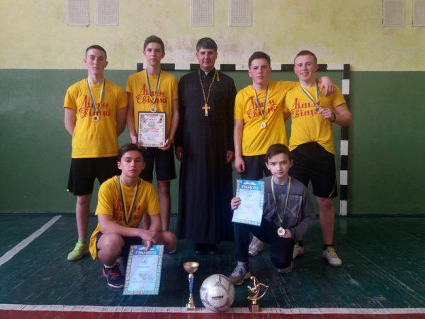 Турнір з міні-футболу між Вівтарними дружинами Коломийського деканату