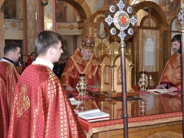 Таїнство соборування у Катедральному соборі м.Коломиї