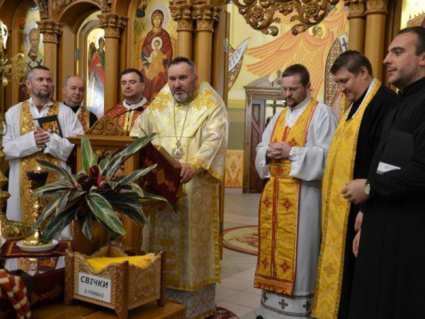 Соборування парафіян у м. Яремче