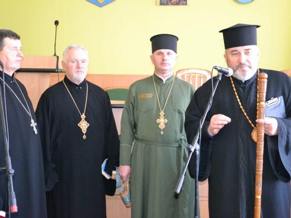 Владика Василій привітав працівників карного розшуку із 100-річчям структури