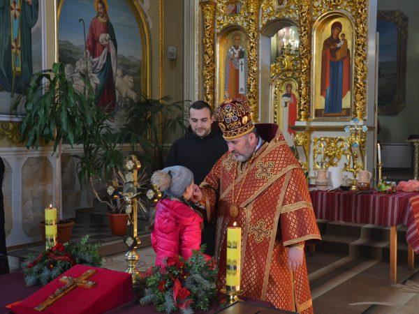 Владика Василій очолив Соборування у Надвірній