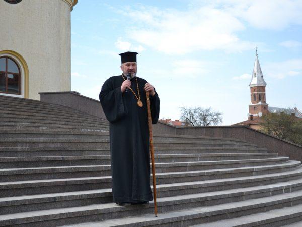 Вітання владики Василя Івасюка зі святом Преображення Господнього та Днем міста Коломиї (відео)