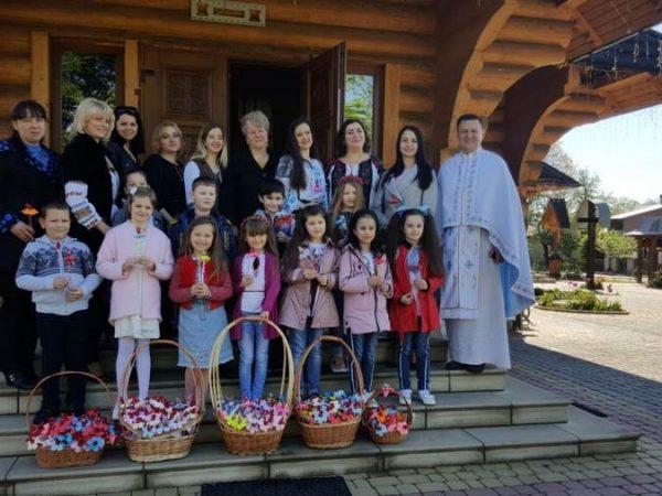 Свято Матері у церкві св. Василія Великого м. Косів
