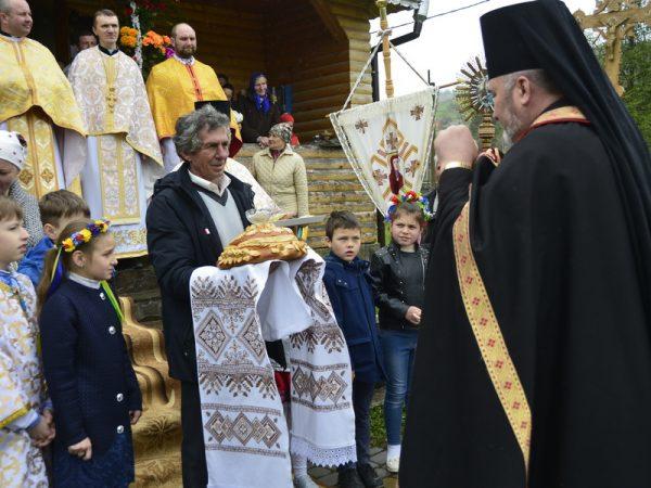 Храмове свято св. великомученика Юрія у с. Бистриця