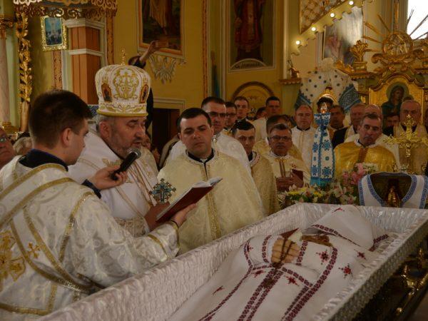 У Фитькові попрощалися з о. Іваном Качанюком