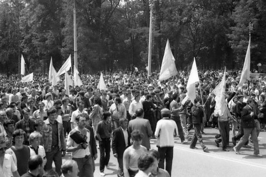 Згадати все: як 30 років тому в Івано-Франківську греко-католики провели перше публічне богослужіння