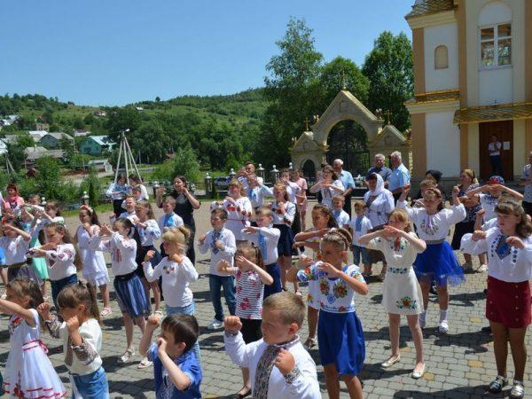 Літній табір при парафії с. Битків