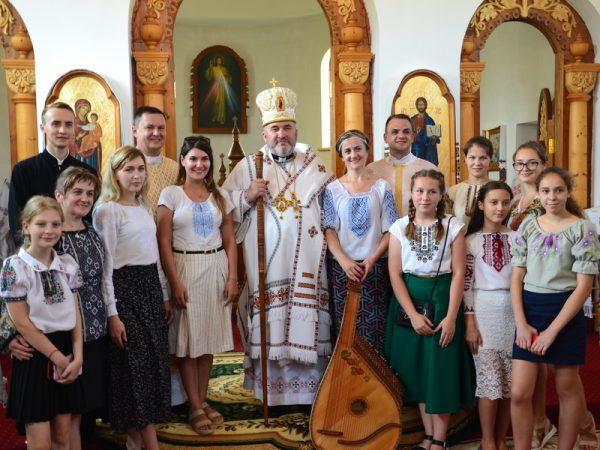Освячення храму в с. Слобідка (оновлено)