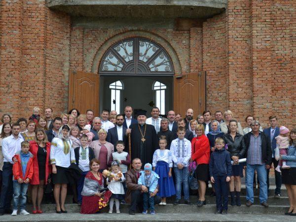 Владика Василій відвідав храм Різдва Пресвятої Богородиці у Делятині